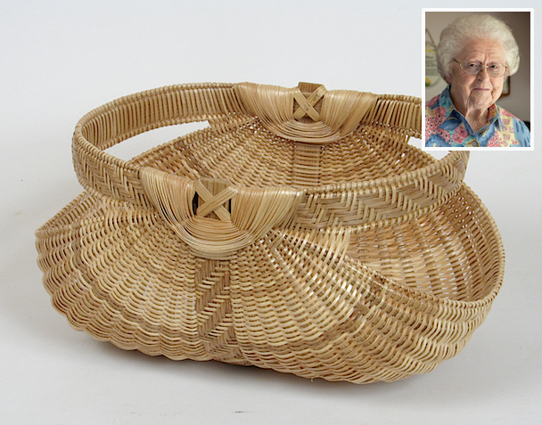 white oak basket
